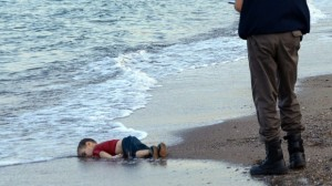 Aylan's body washed ashore (Photo: AFP/Getty Images)