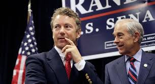 Rand and Ron Paul. Photo by Politico