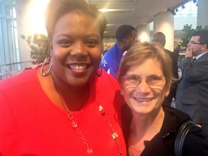 Kaya Henderson and Jo-Ann Armao, the Post's lead local editorial writer. Photo: @RICEBILLDC